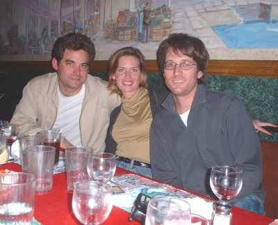 Os, Ali, and Charlie