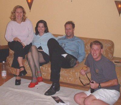 Molli, Kelli, John and Joe