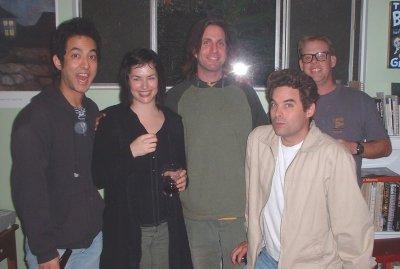 Dan, Shira, Jeff, Os and Joe