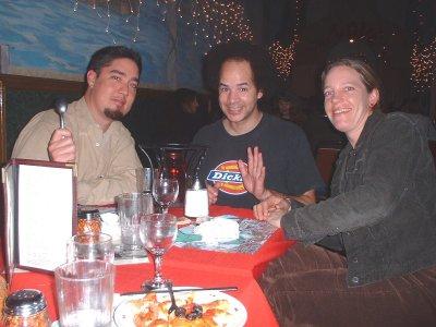 Chris, Tony and Hillary