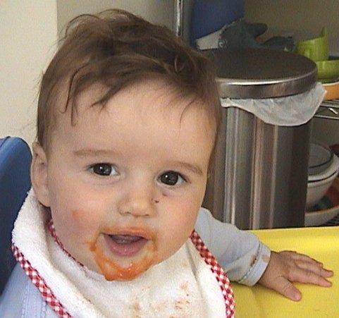 Sean eats carrots