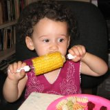 Coco loves corn