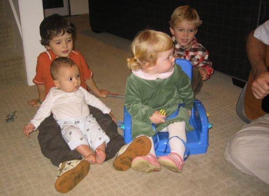 Cousins at Thanksgiving