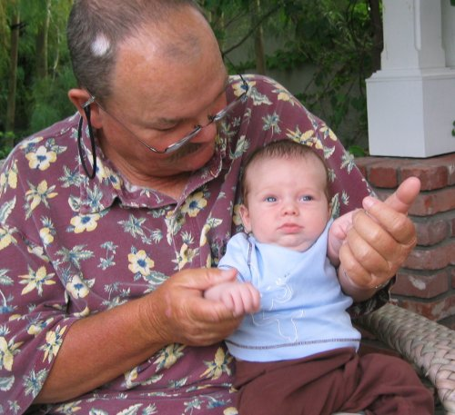 Grampa and Jackson