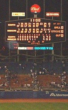 Dodgers 9, Giants 5