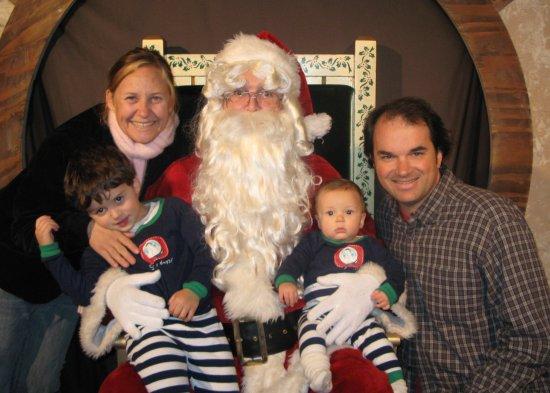 Us with Santa