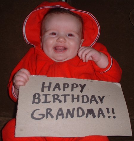 Happy Birthday Grandma!!