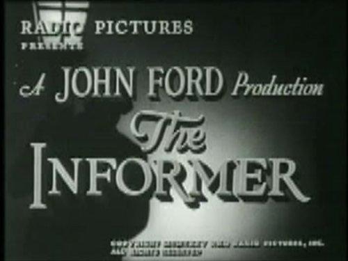 Informer - 1935 - Dir. John Ford