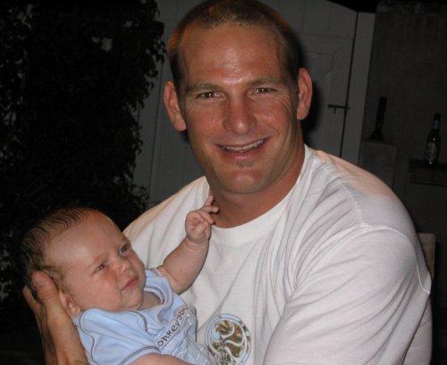 Jackson and his Pa