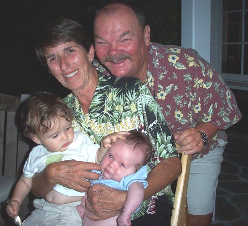 Grandparents with Grandchildren