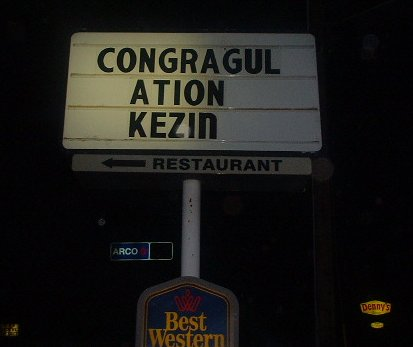 Hello, Kezin