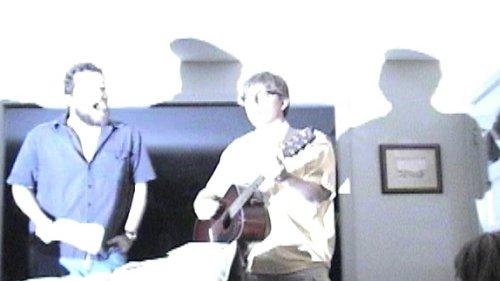Matt and Ken, singing their song
