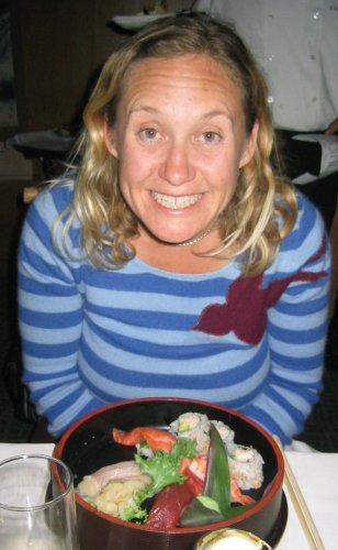 Molli loves Sushi!!