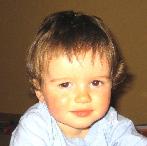 Sean got his hair cut!!