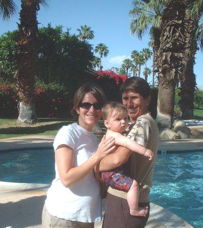 Aunt Kelly, Grandman, and Sean