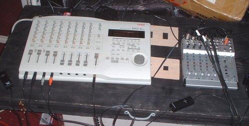 Drum recording setup