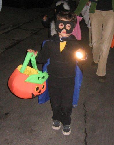 Sean as Batman
