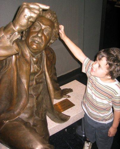 Sean and Einstein