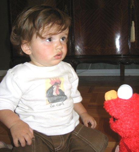 Sean and Elmo