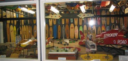 Skateboard museum at skatelab