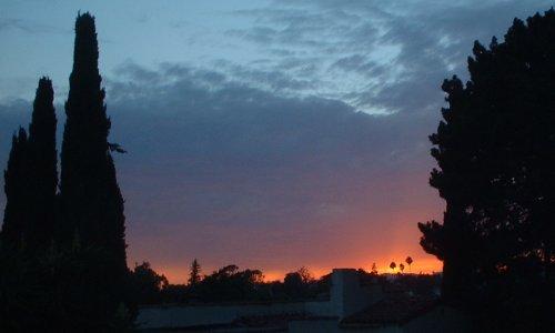sunset 090402