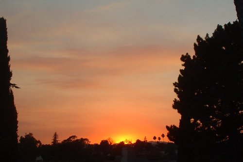 sunset 091002