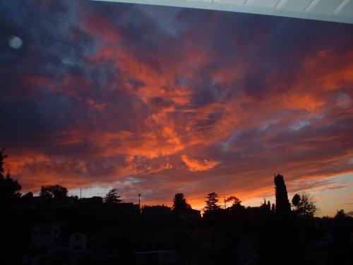 Sunset, 12-3-01