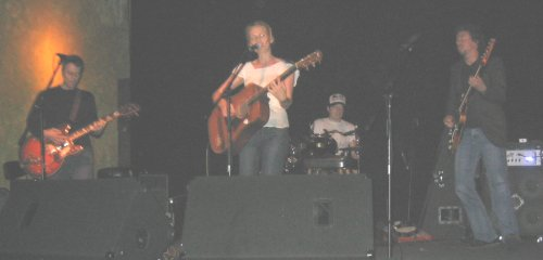 Taylor Ross with Michael Long on guitar